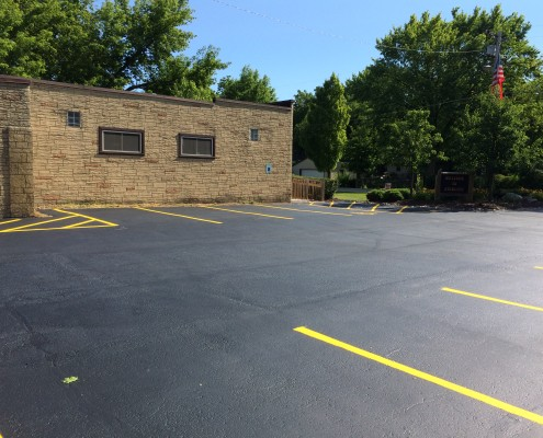Kenosha Parking Lot Sealcoating