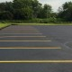 Sealed and Striped Parking Lot Kenosha 2