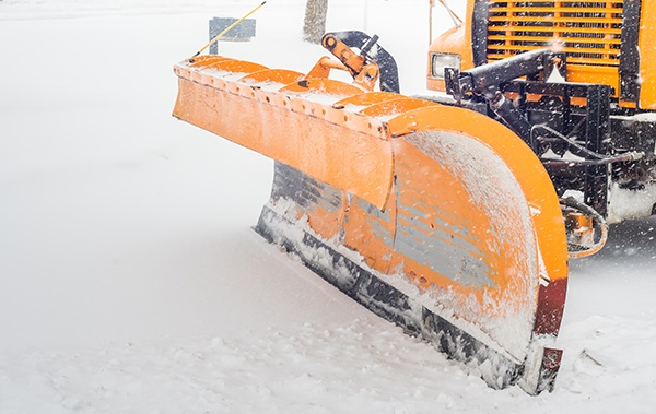 Commercial Snow Plowing Service