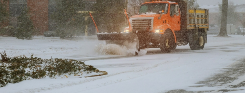 Commercial Snow Plowing